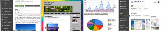 Gratis bloggtjänst - Smarta funktioner
